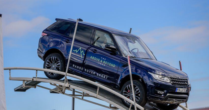 European Roadshow Land Rover
