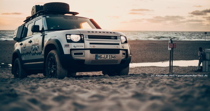 Defender meets Sylt